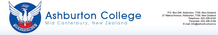 Ashburton College Logo