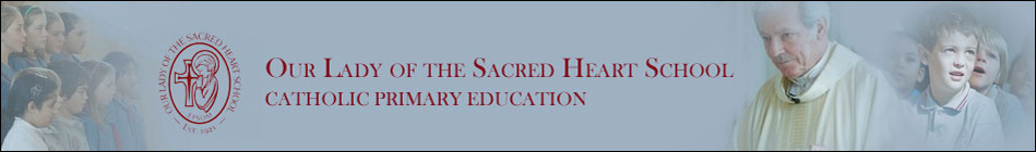 Our Lady of the Sacred Heart School Logo