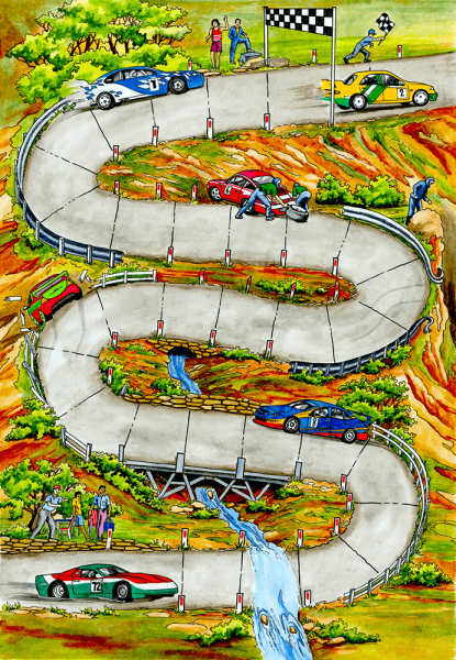 The Car Race Game