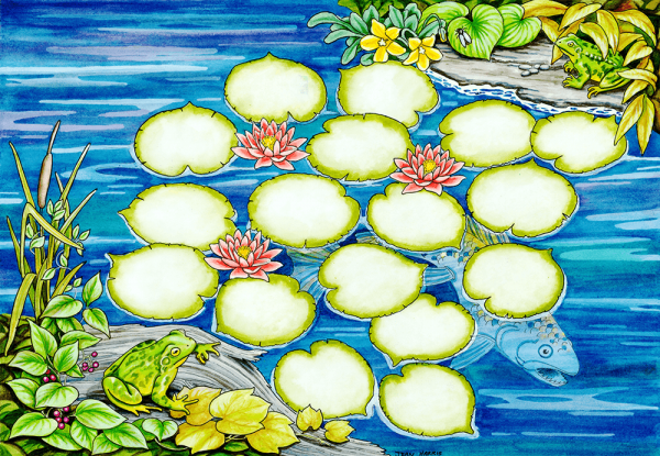 The Frog Pond Game